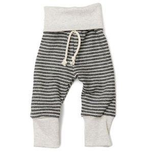 Childhood's Clothing Coal Stripe Skinny Sweats, 2T